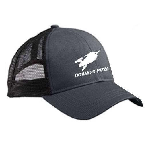 319a92dfd White/Black Trucker Hat